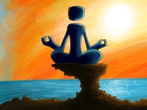 Meditação - Quadro