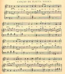 A Flauta Mágica - Partitura